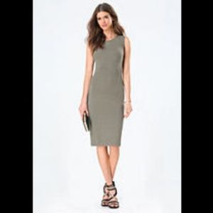 bebe Sleeveless Bodycon Dress